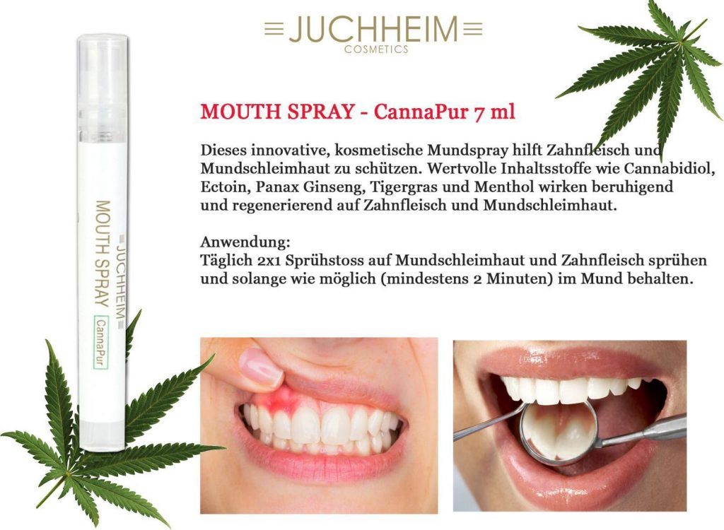 Mundspray JUCHHEIM MOUTH SPRAY zur Mundhygiene